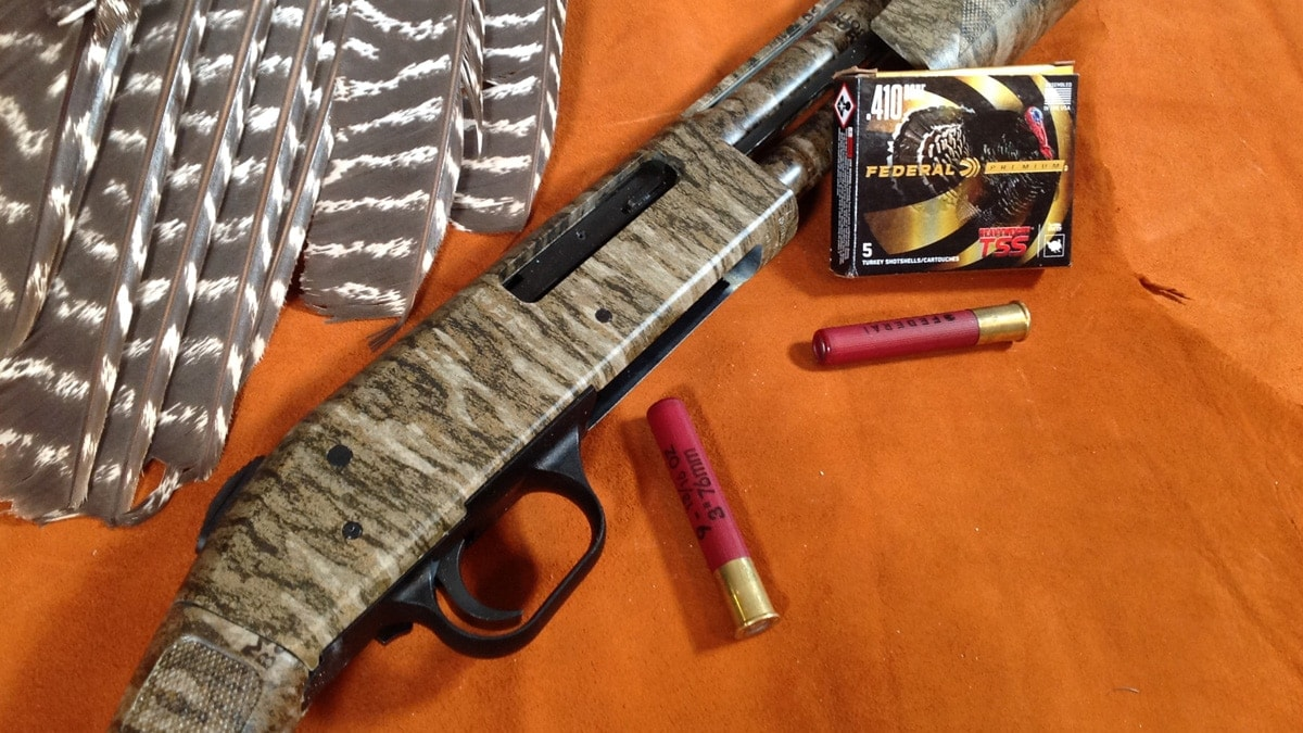 Mossberg's First  410 Gobbler Getter: The Baby Model 500