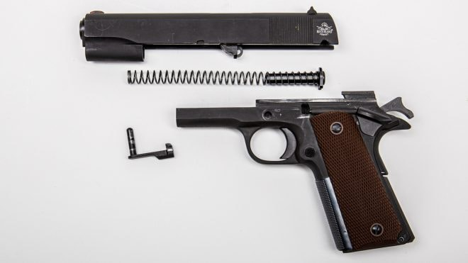 RIA 1911 FS field stripped
