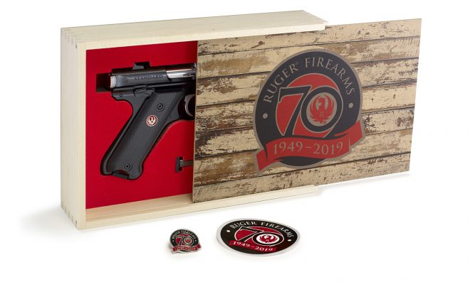 Ruger 70th anniversary Limited Edition Mark IV