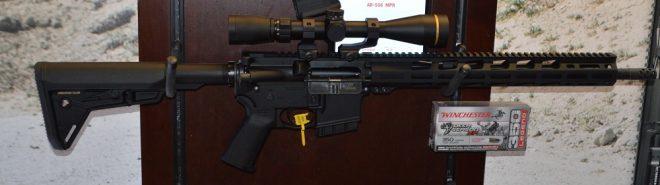 Ruger AR556 MPR 350 Legend