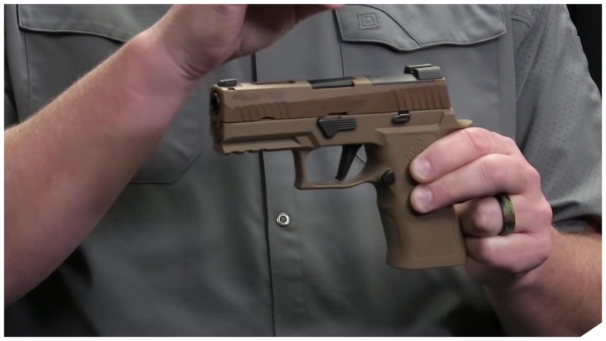 Sig Sauer Shipping P320 XCarry in Coyote (VIDEO)