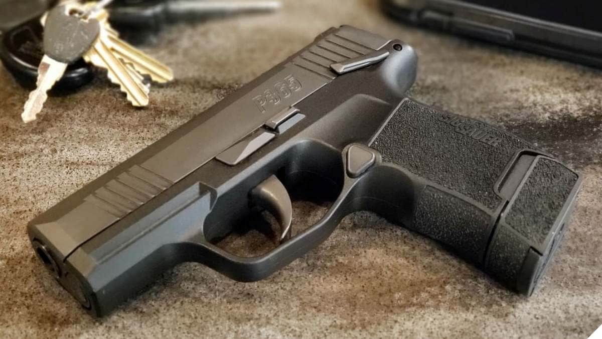 Sig Sauer P365 now Offered with Manual Safety Option