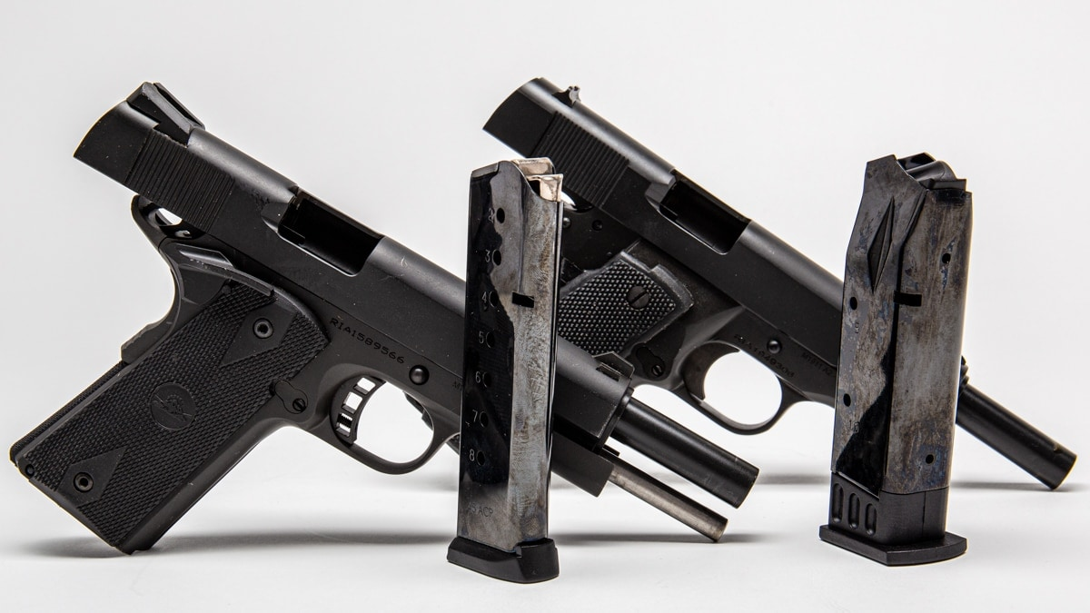 The RIA 1911 FS comes in both single and double stack formats
