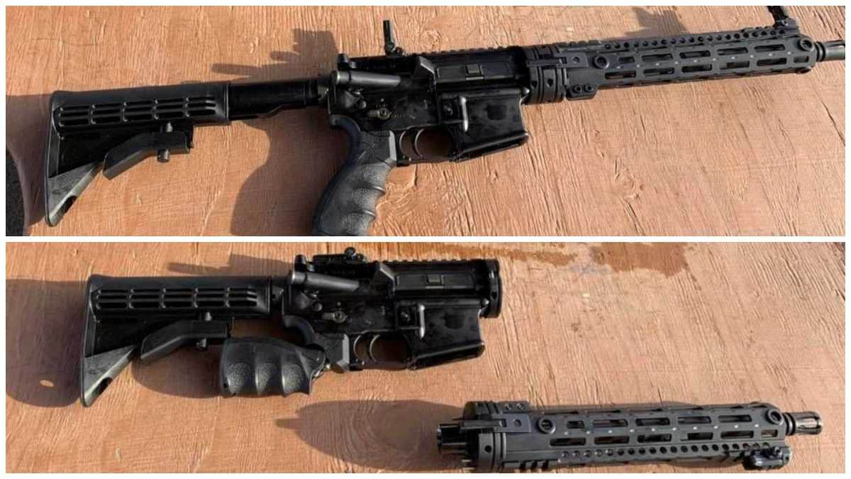 USAF Aircrew Self Defense Weapon together and taken down