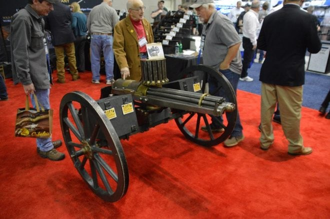 W.G. Armstrong British Gatling Gun NRA Indy