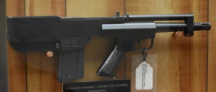 Bushmaster arm pistol USAF eger