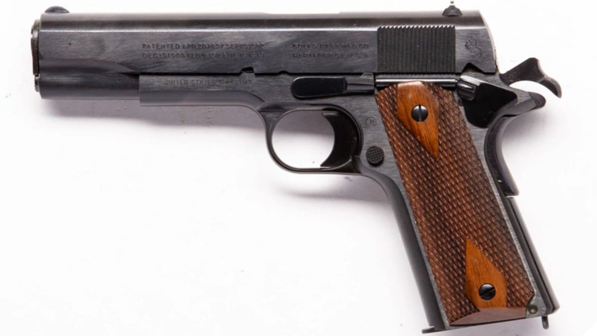 Colt WWI commemorative