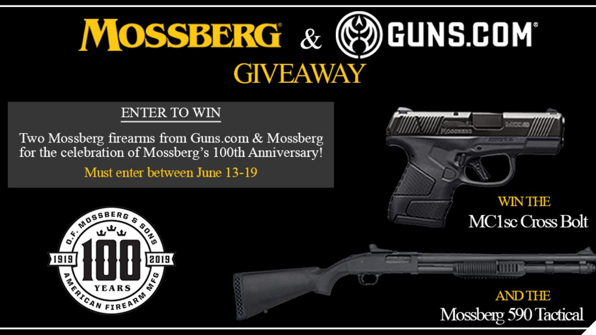 Giveaway: Win 2 Guns to Celebrate Mossberg's 100th Anniversary
