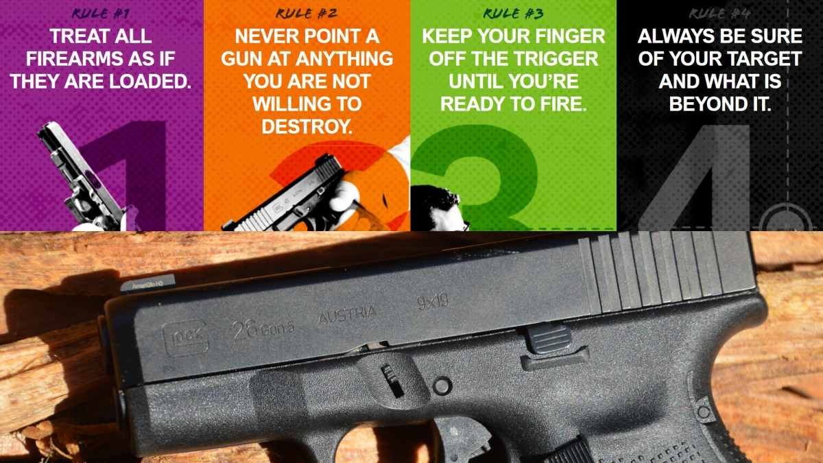 Glock Launches 'Follow the Four' Safety Campaign