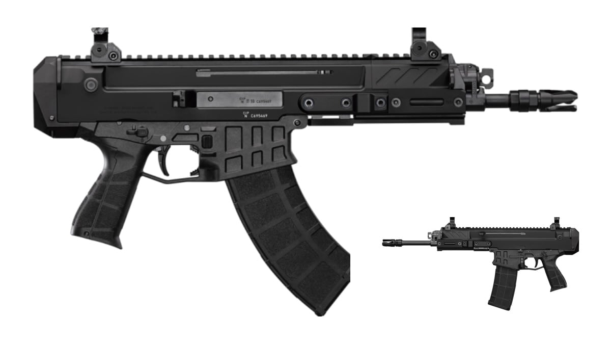 Meet the New CZ Bren 2 Ms Pistol, Offered in both 7.62x39 and 5.56