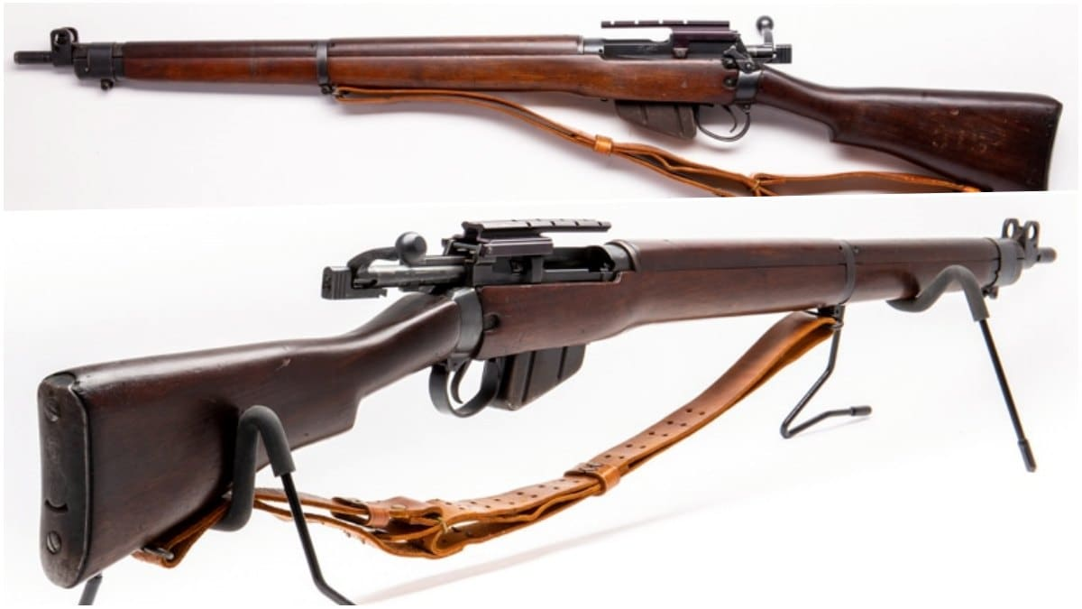 No.4 Mk I Long Branch Rifles Canadian c