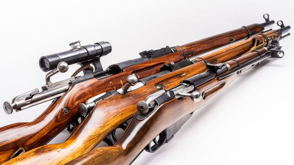 Mosin Nagant rifles