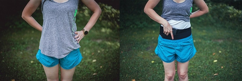 holsters for exercising