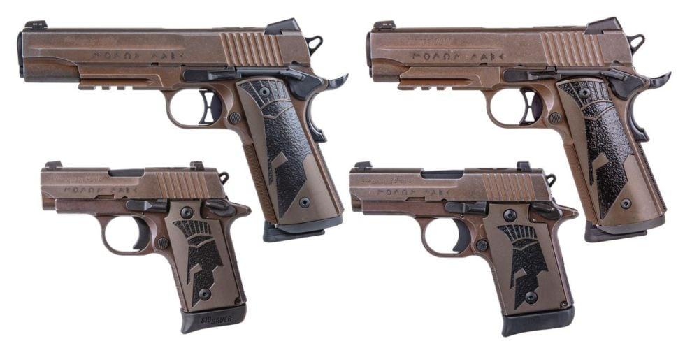 SIG SAUER Spartan II Series Pistols 1911 1911 Carry P238 P938