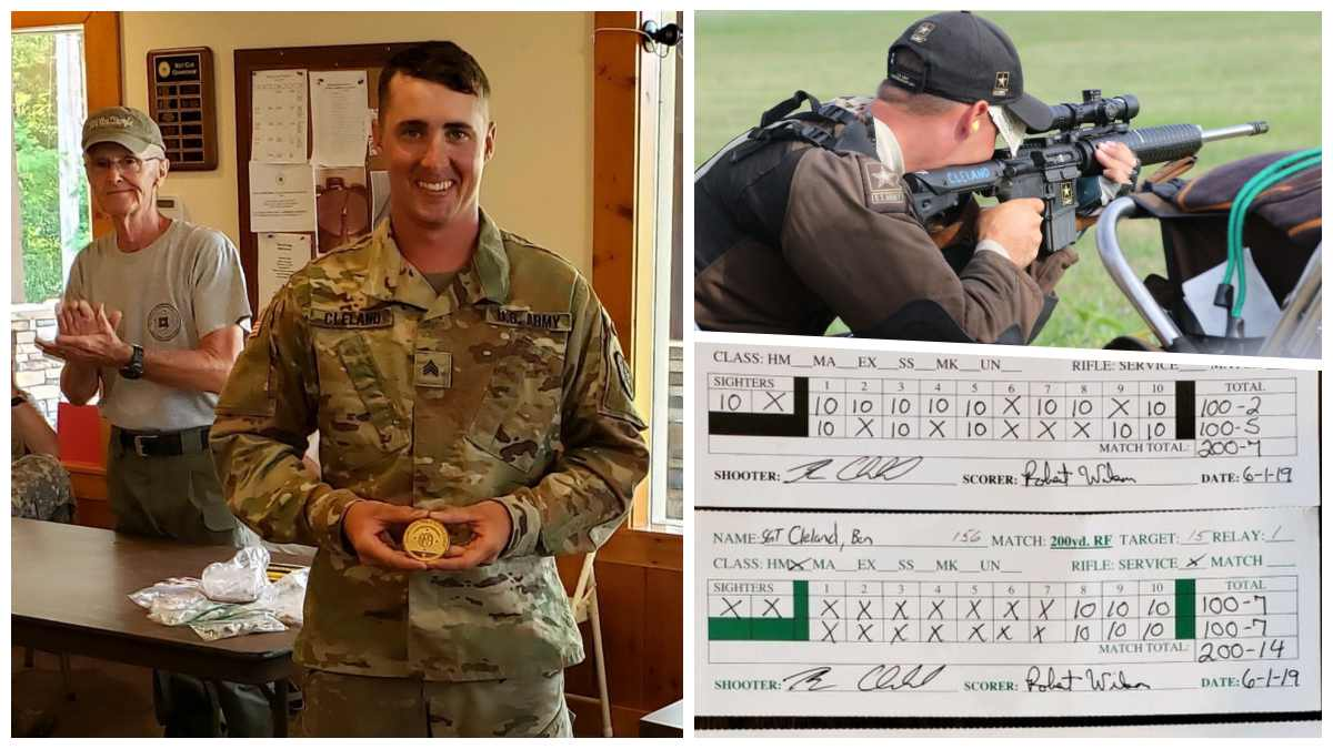 Shooting Record: Soldier Nails Perfect Score in High-Power Event with Service Rifle