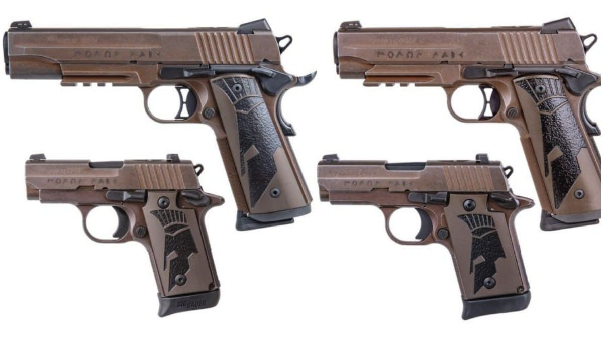 Molon Labe: Sig Sauer Debuts Spartan II Pistol Series