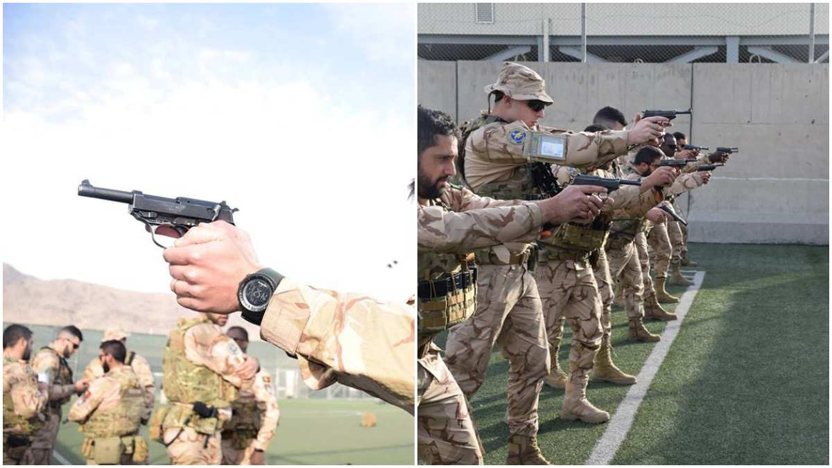 The Portuguese military adopted Walther P38 as the M961 in the 1960s to replace the Luger P08, and it is still in use with that country today. (Photos: Portuguese Army)