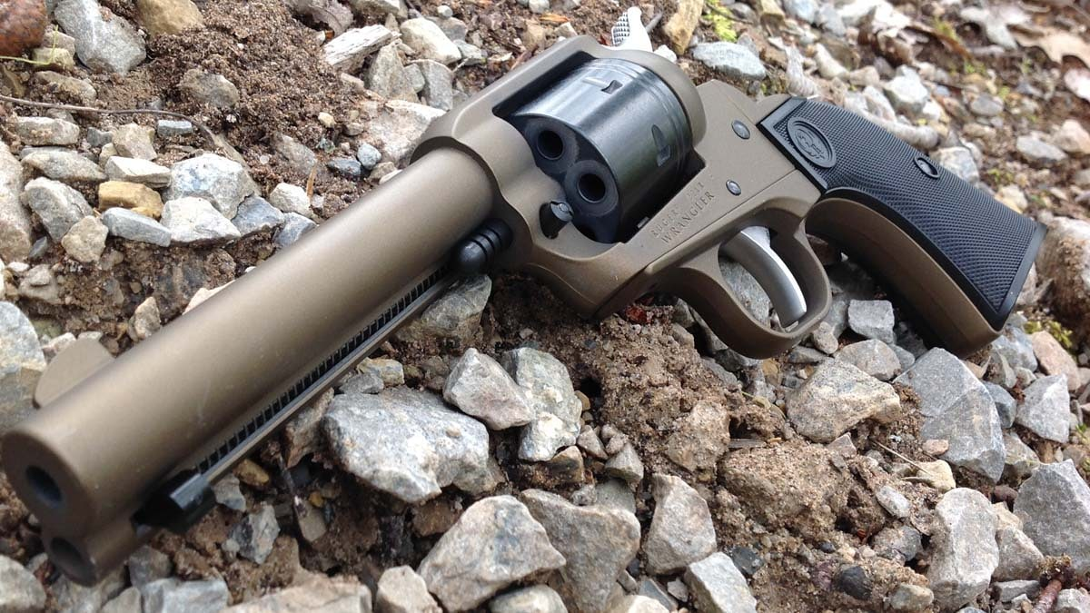 Breaking the Mold with Ruger Wrangler Rimfire Revolver (VIDEO)