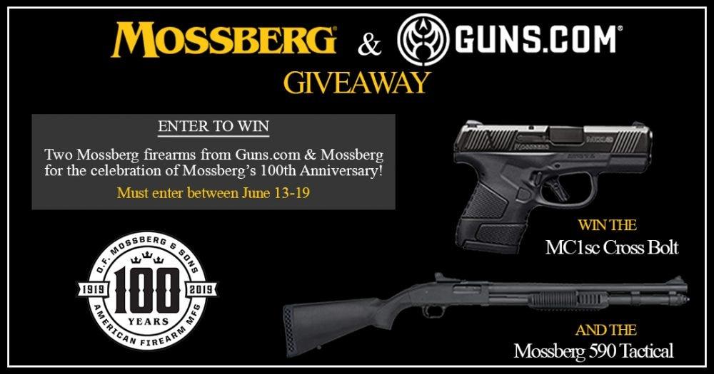 Mossberg giveaway free guns