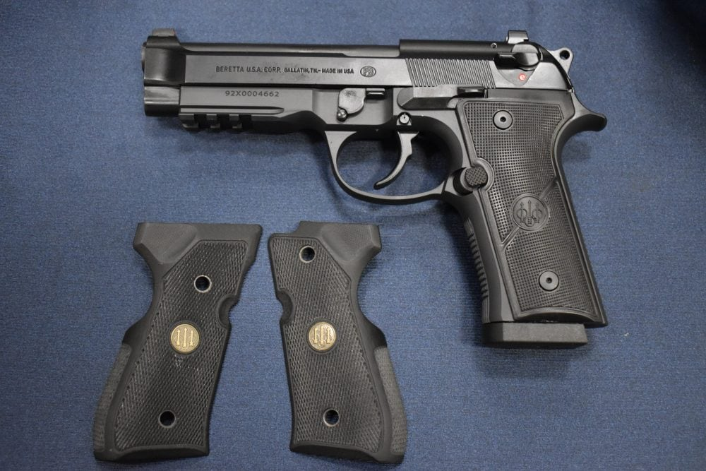 Beretta 92X series Full size with new grips