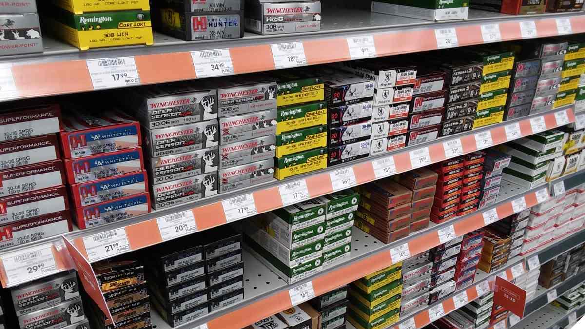 Shelf with ammo