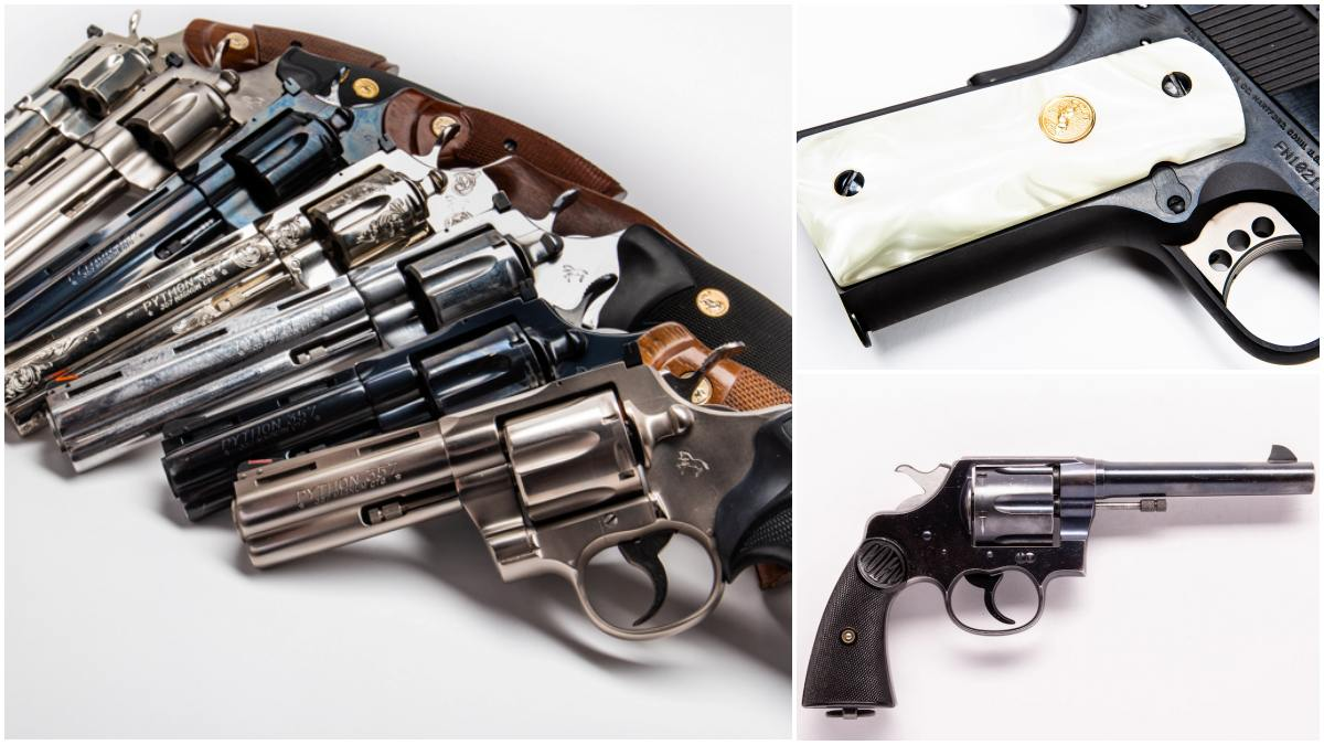 Colt at 205: The Best Pistols and Revolvers of Colt Firearms Over the Years