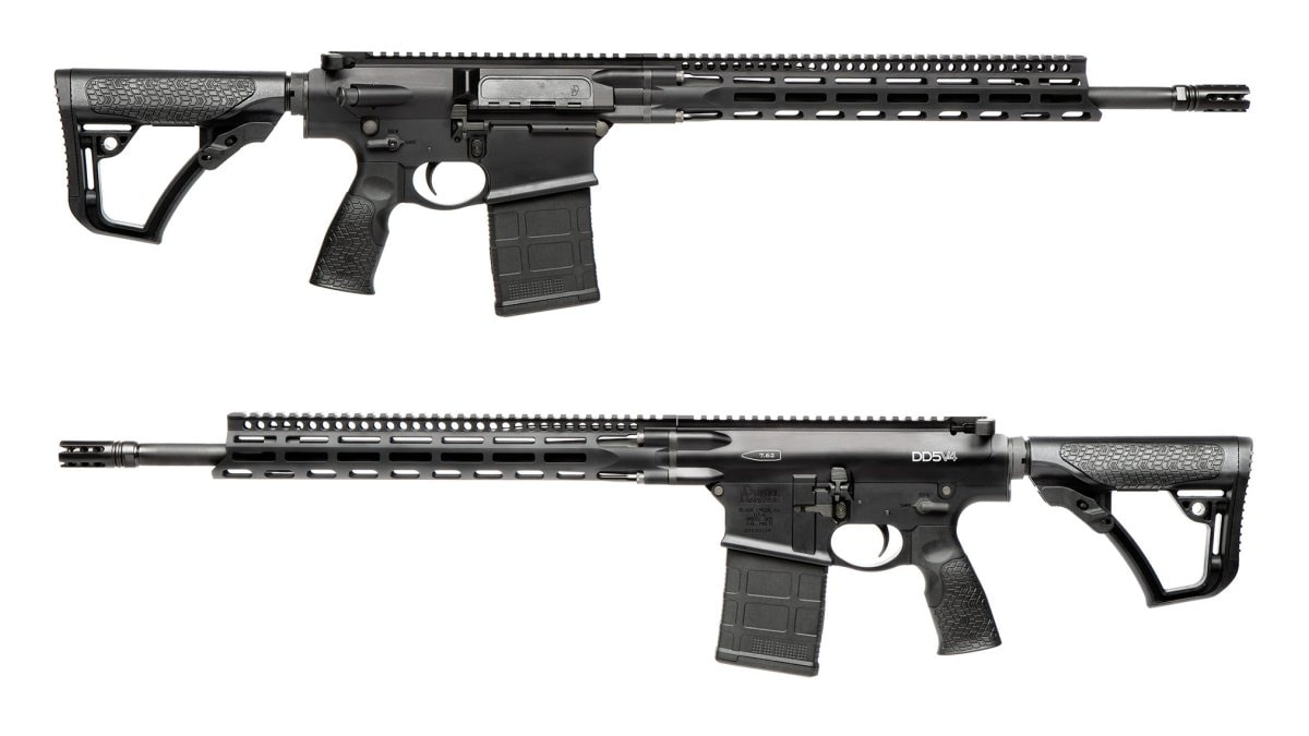The DD5V4 in .308 Win uses an 18-inch S2W barrel with a 1:11 twist. Overall length is 37-inches with the stock fully extended while weight, unloaded, is 8.6-pounds.