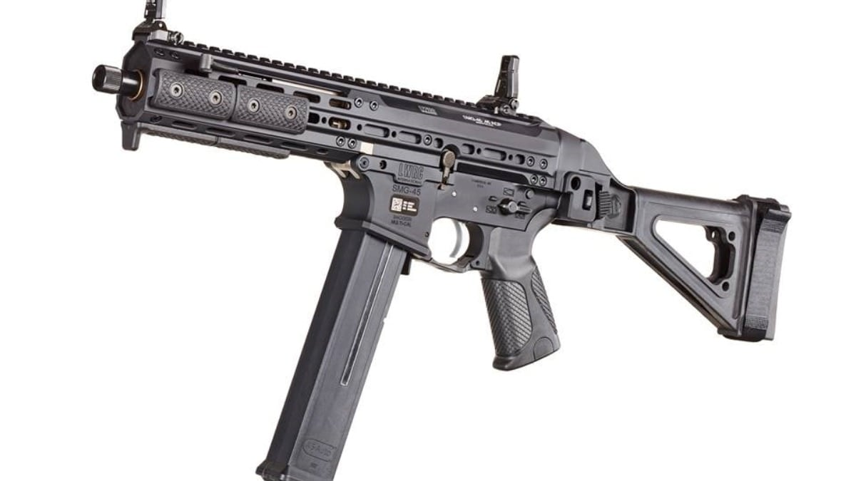 LWRCI Delivers New SMG-45 Braced Pistol to Market