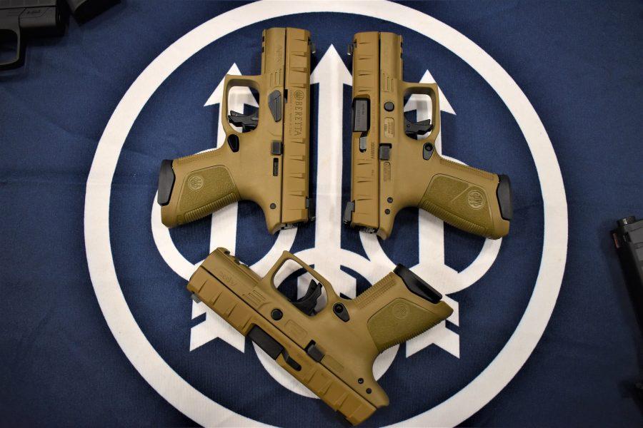 New Beretta APX FDE