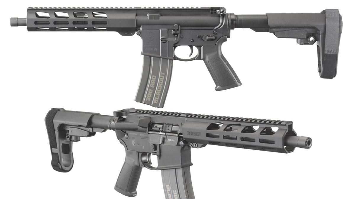 Ruger Expands AR556 Pistol Line to Include 300 Blackout