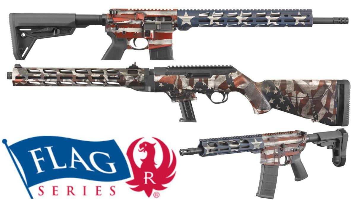 Ruger Goes Patriotic with New Flag Series Firearms (PHOTOS)