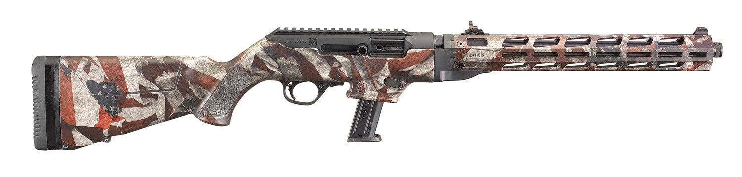 Ruger PC Carbine Flag Series