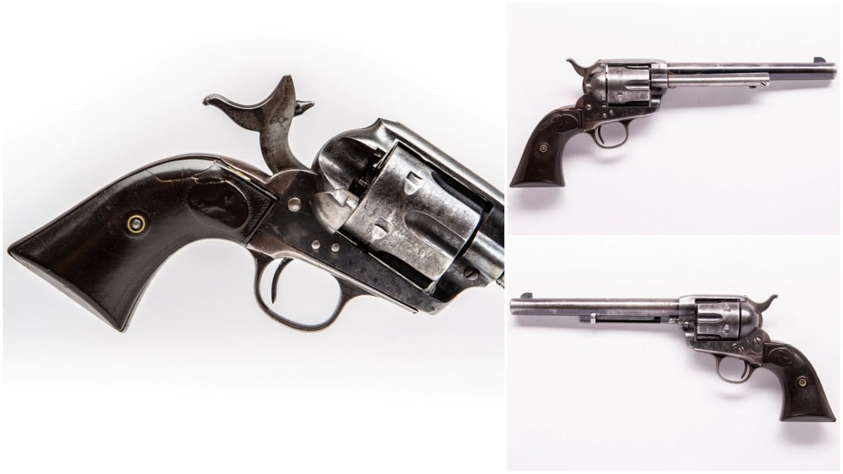 This 1913 production Single Action Army is chambered in 32-20 and is in the Guns.com Vault-- looking for a collector to bring it home.