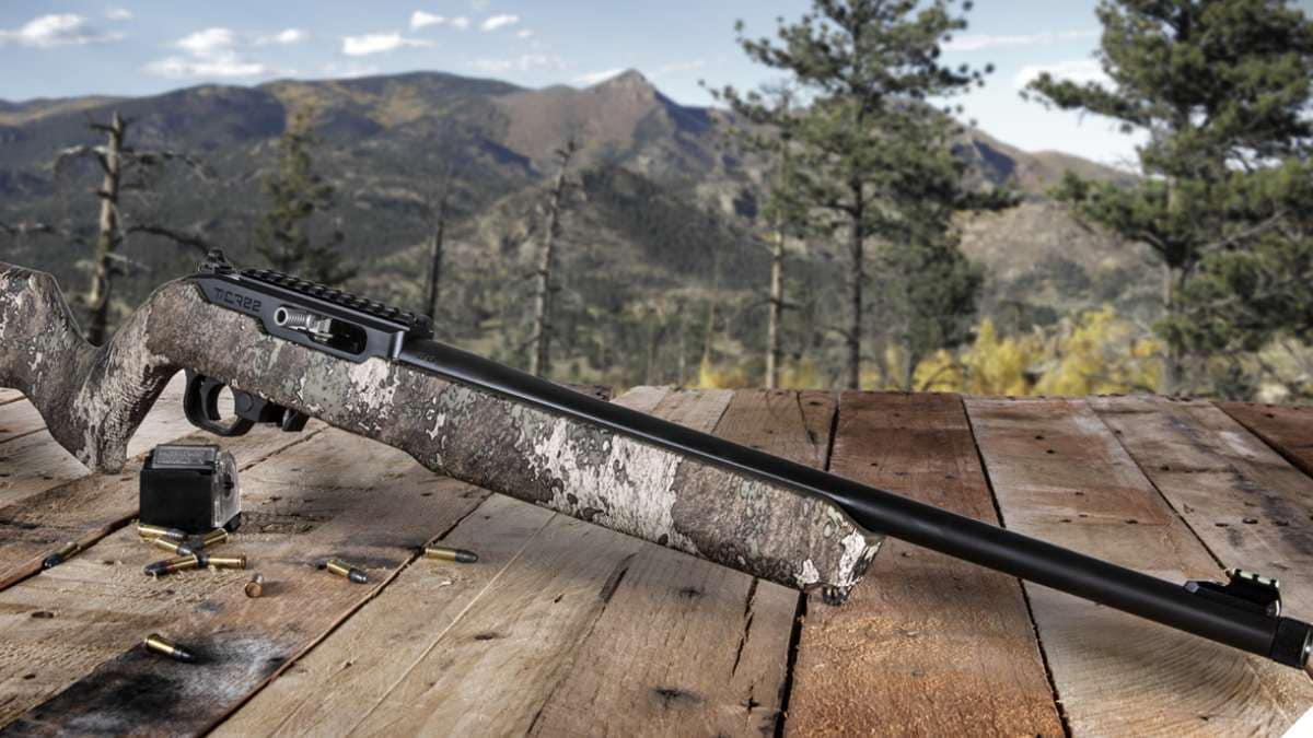 Thompson/Center Grows T/CR22 Line with Truetimber Camo Pattern Option