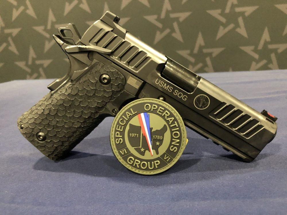 USMS SOG STI pistols