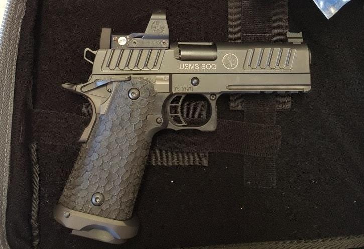USMS SOG STI pistols (4)