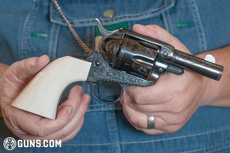 "Colt Single Action Army ""Sheriff's Model"" in .44 Special."