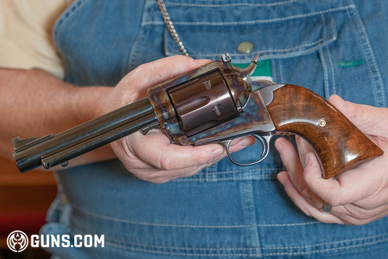 Texas Longhorn Arms 'Grover's Improved #5' .44 Magnum revolver. (Photo: Ben Philippi / Guns.com)