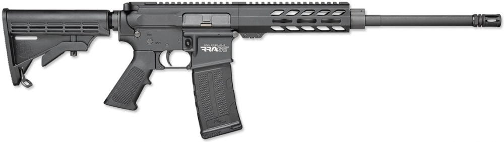 The standard LAR-15 RRAGE carbine uses a shorter handguard and a lightweight chrome-moly barrel, with a $60 lower MSRP. (Photo: RRA)