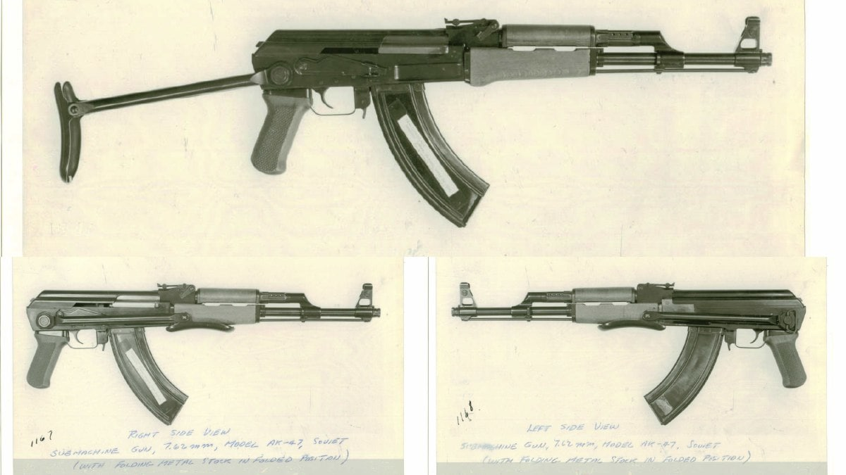 That slab-sided magazine... on what looks like a Type III milled AK47 (Photo: Springfield Armory National Historic Site)