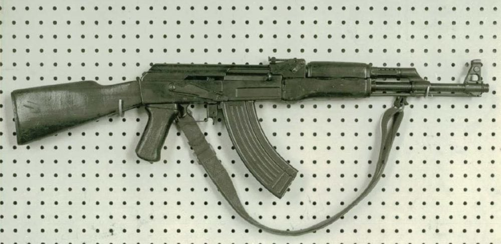 An early milled AK47 captured in Vietnam in 1965 SPAR