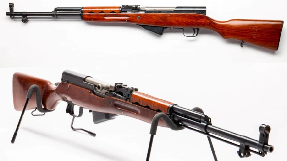 Norinco SKS on display