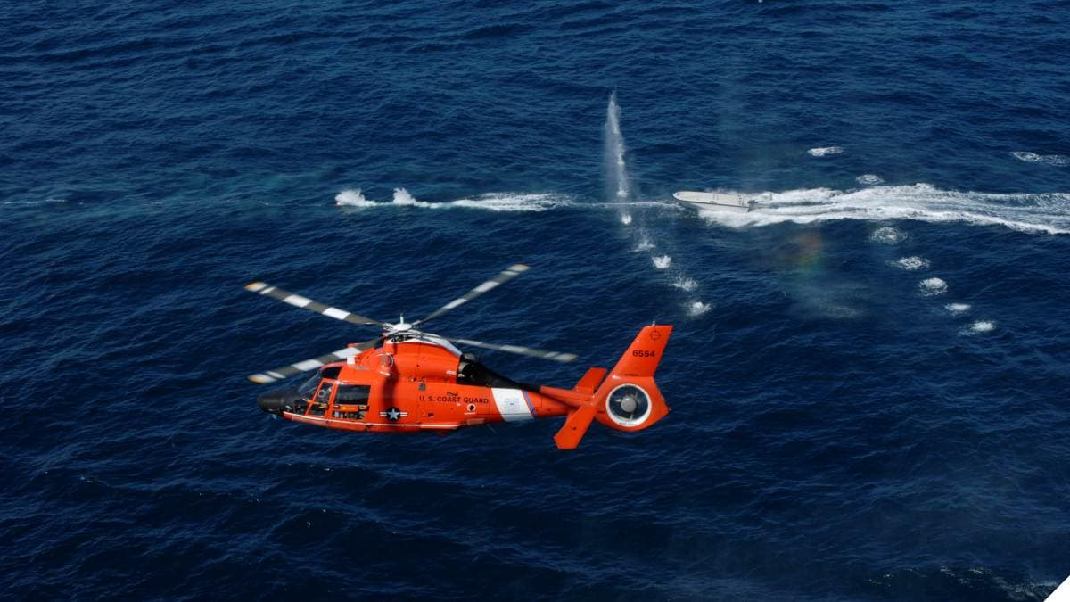 Coast Guard's 50-cal Armed Helicopter Squadron Turns 20