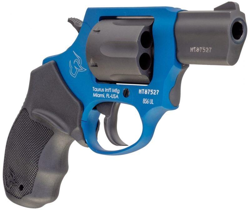 Taurus 856 Cobalt Blue black carbon option