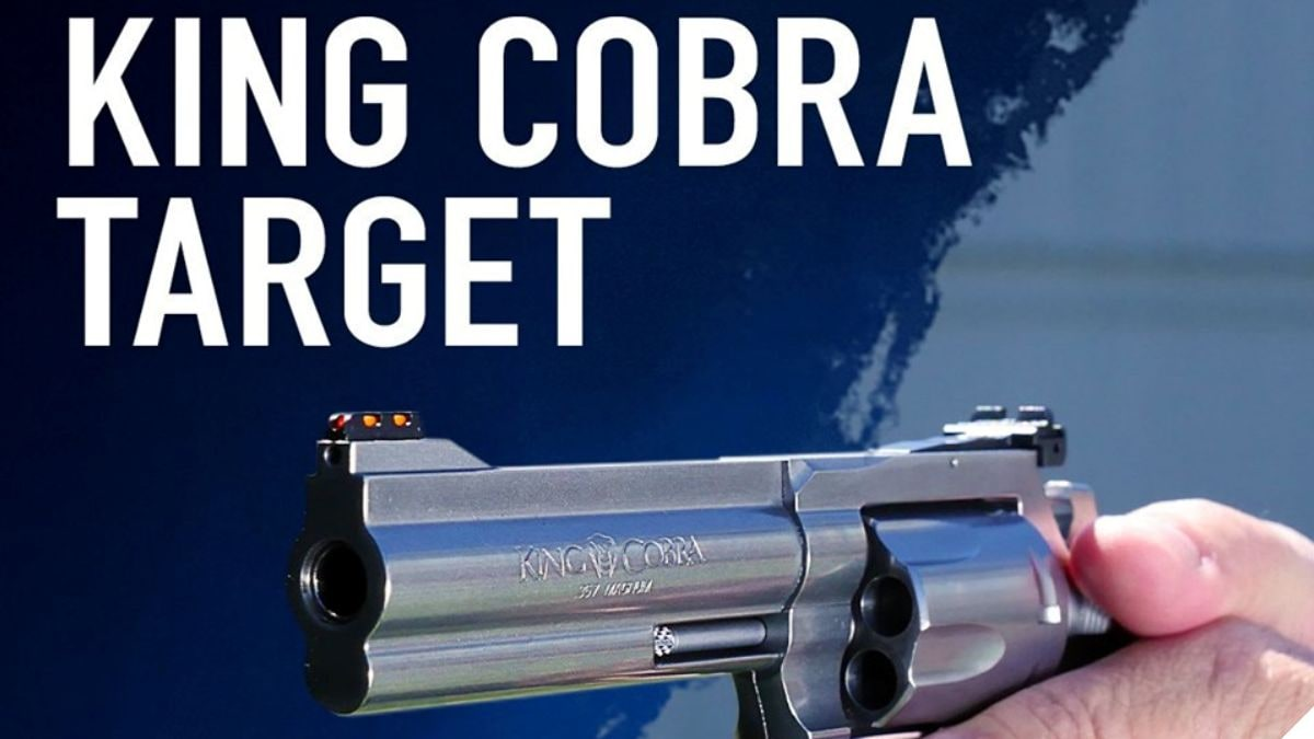 Colt Pens Love Letter to Revolver Fans with New King Cobra...