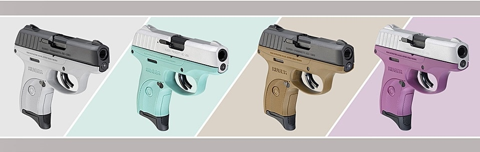 Ruger is bringing four new color options to their EC9S line of no-frills 9mm handguns. (Photo: Ruger)