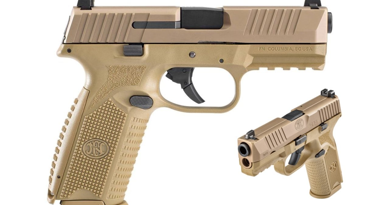 FN America Debuts New FN 509 Pistol in Full FDE Finish
