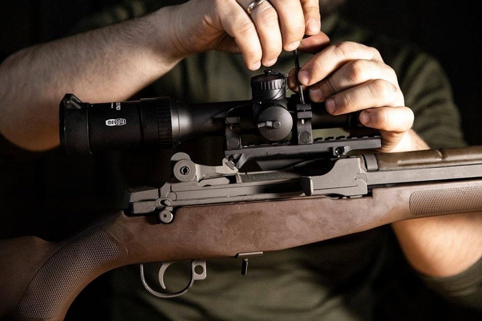 Lithuania M14 L1 with Meopta scope Sadlak mounts designated marksman rifle 2019 via Lithuanian ministry of defense 3