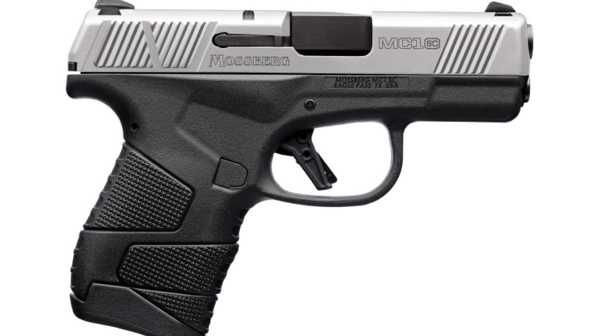 Mossberg: MC1sc 9mm Pistol Now Available in Stainless Two-Tone Model