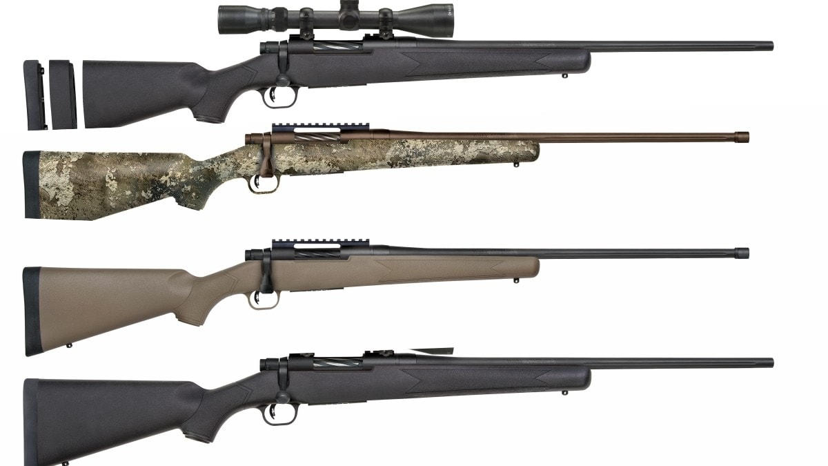 Mossberg adds 6.5 PRC, 350 Legend to Patriot Series rifles
